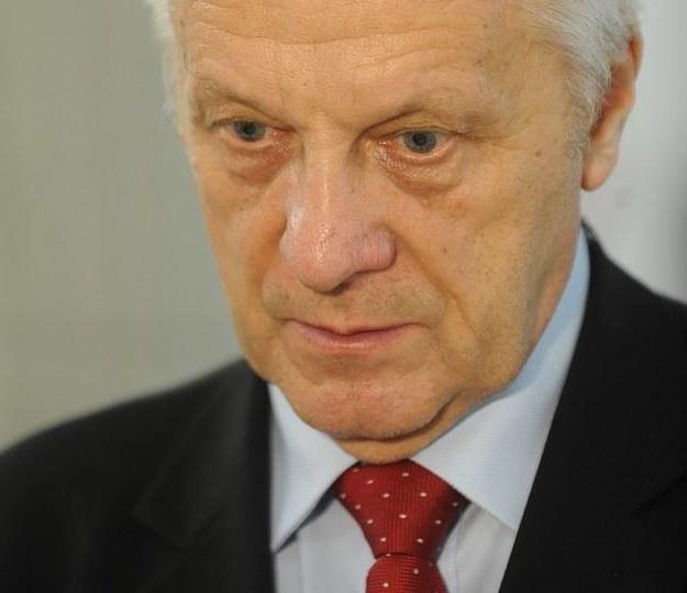 Poseł Niesiołowski /Fot. W. Rozbicki /Reporter