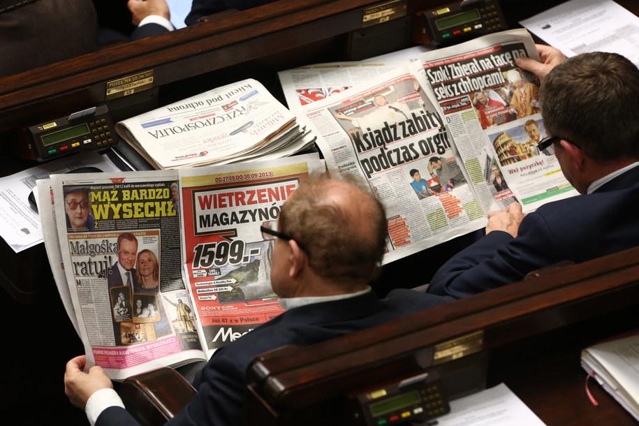 Poseł źle zaparkował, posłowie nie uchylili mu immunitetu /Tomasz Gzell /PAP