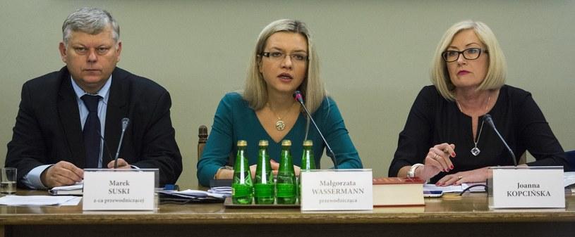 Posiedzenie komisji śledczej ds. Amber Gold /Andrzej Hulimka  /Reporter