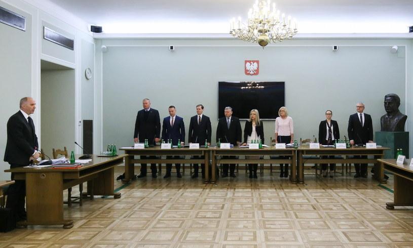 Posiedzenie komisji śledczej ds. Amber Gold /Paweł Supernak /PAP