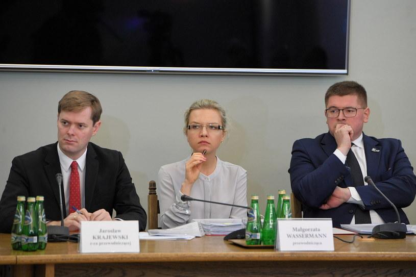 Posiedzenie komisji śledczej ds. Amber Gold / Radek Pietruszka   /PAP