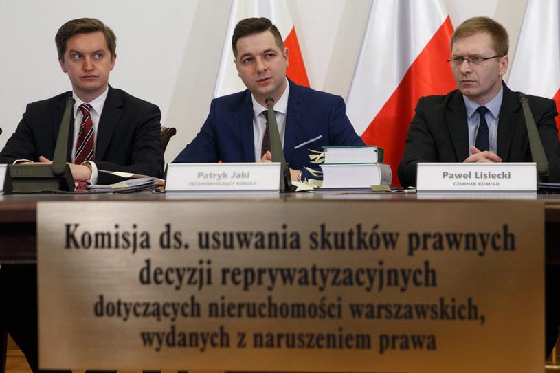 Posiedzenie Komisji ws. usuwania skutków prawnych decyzji reprywatyzacyjnych. /Krystian Maj /FORUM