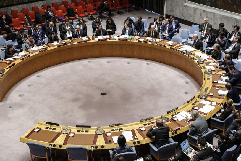 Posiedzenie Rady Bezpieczeństwa; zdj. ilustracyjne /AFP