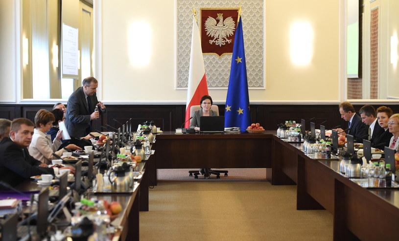 Posiedzenie rządu /Radek Pietruszka /PAP
