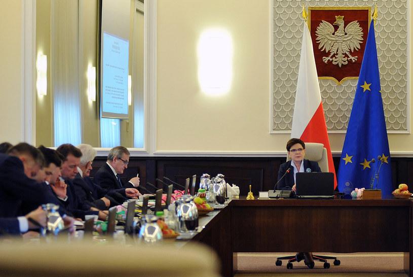 Posiedzenie rządu /Piotr Smoliński /Reporter