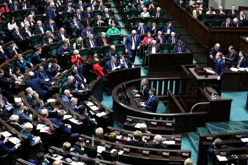Posiedzenie Sejmu /Leszek Szymański /PAP