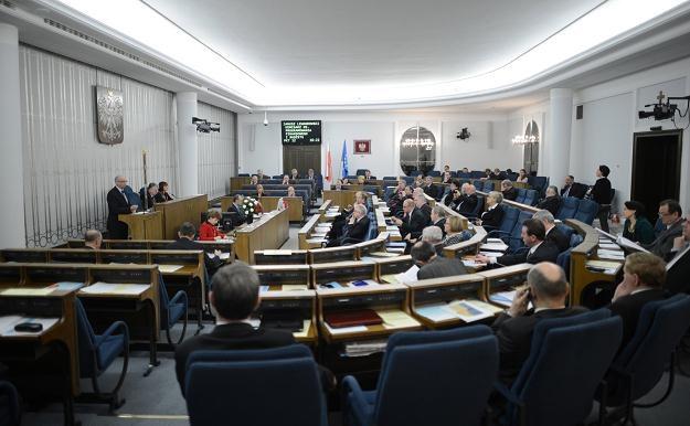 Posiedzenie Senatu, fot. Jacek Turczyk /PAP