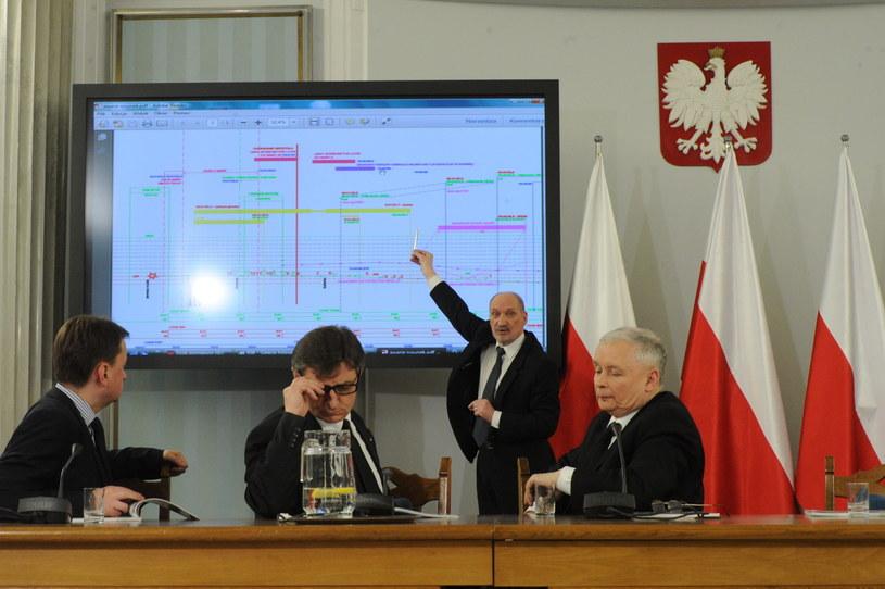 Posiedzenie zespołu parlamentarnego ds. zbadania przyczyn katastrofy Tu-154M /PAP