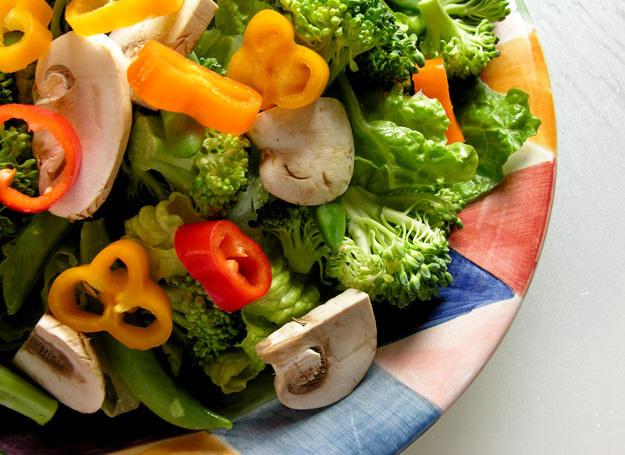 Posiłki powinny się składać głównie z warzyw