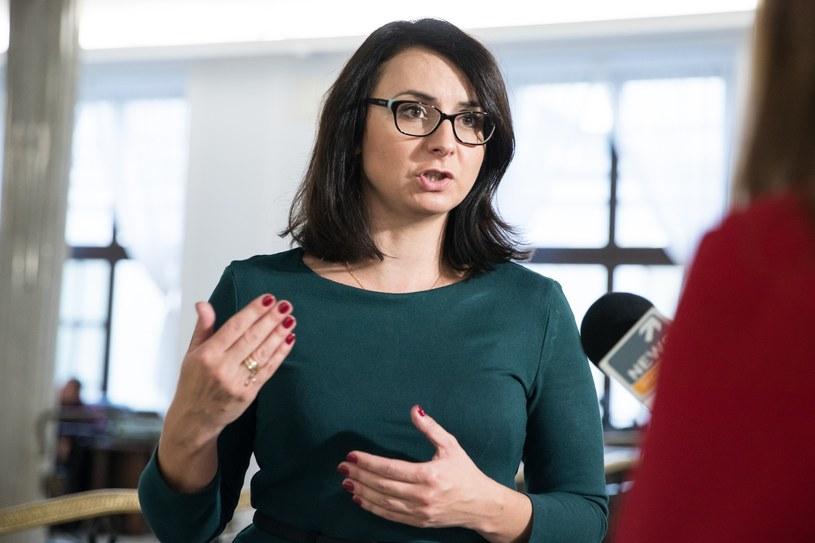Posłanka Kamila Gasiuk-Pihowicz /Aleksandra Szmigiel /Reporter