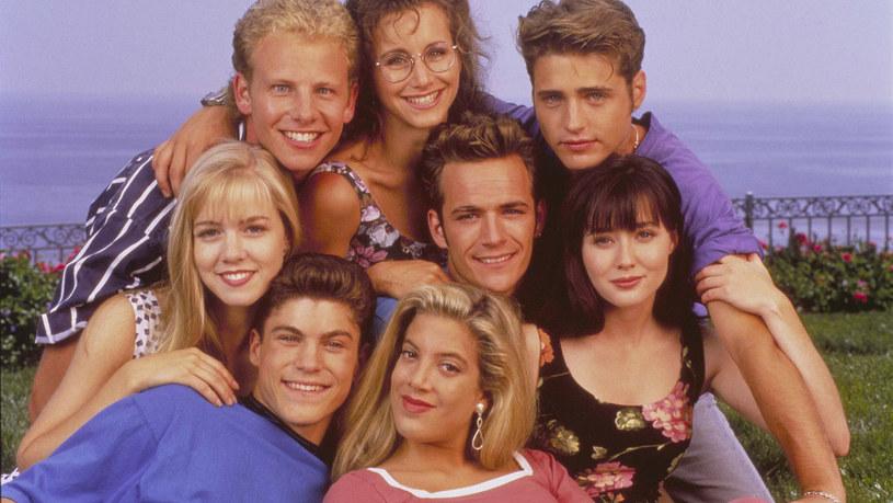 """Pośród pozostałych gwiazd kultowego """"Beverly Hills, 90210"""" /materiały prasowe"""