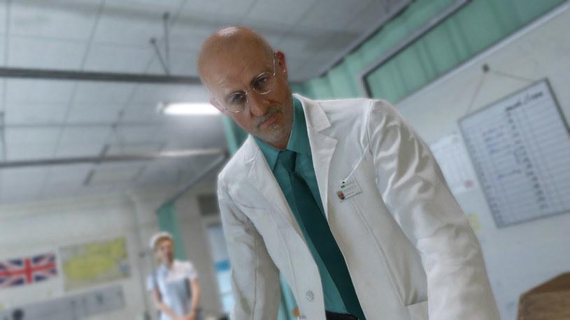 Postać lekarza występującego w zwiastunie gry Metal Gear Solid V: The Phantom Pain /materiały źródłowe