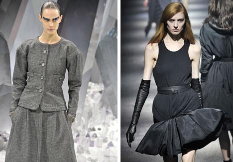 Postaw na klasykę! Na zdjęciu garsonka do Chanel i mała czarna od Lanvin /East News/ Zeppelin