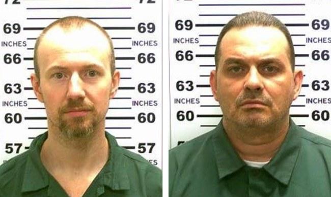 Poszukiwani zbiegowie - David Sweat i Richard Matt /NEW YORK STATE POLICE / HANDOUT /PAP/EPA