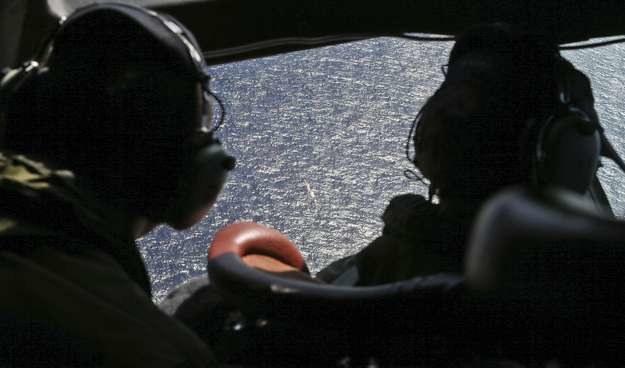 Poszukiwania zaginionego boeinga /AFP