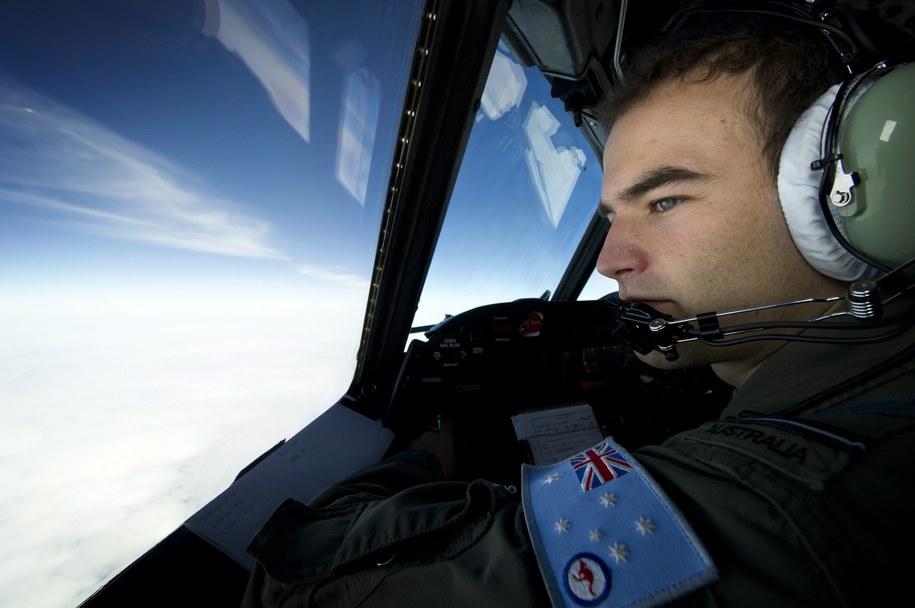 Poszukiwania zaginionego samolotu /LAC Oliver Carter / DOD /PAP/EPA