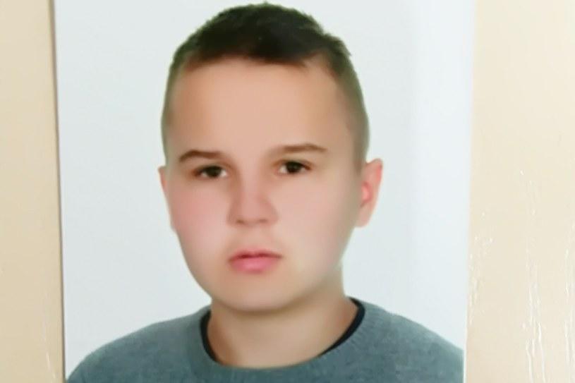 Poszukiwany 14-latek chłopiec /Policja /Policja