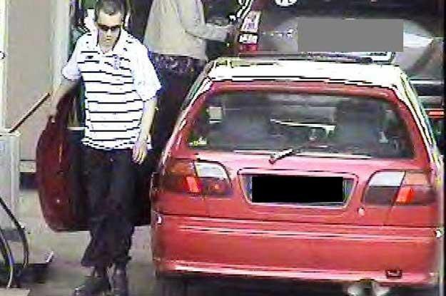 Poszukiwany jest mężczyzna w wieku 20-25 lat, wzrostu 175 cm /Policja