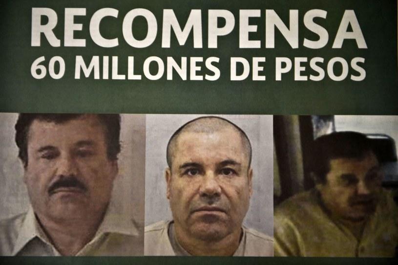 Poszukiwany meksykański baron narkotykowy /AFP