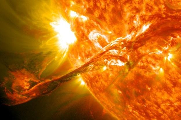 Potężny koronalny wyrzut masy może doprowadzić do katastrofy na Ziemi /NASA