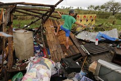 Potężny tajfun nad Filipinami
