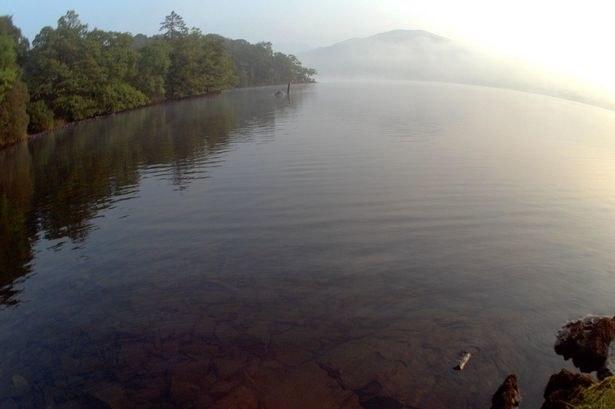 Potwór z Loch Ness w angielskim jeziorze, fot. Twitter autorki /