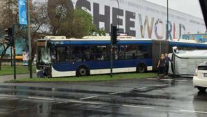 Poważny wypadek w centrum Krakowa
