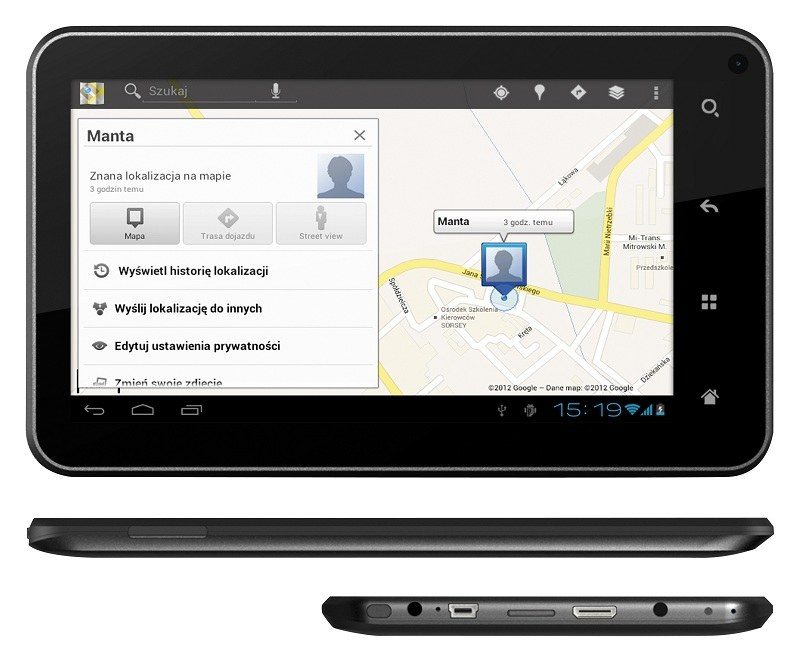 Power Tab MID12 GPS /materiały prasowe