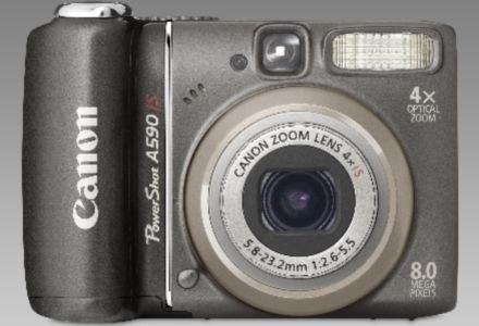 PowerShot A590 IS /materiały prasowe