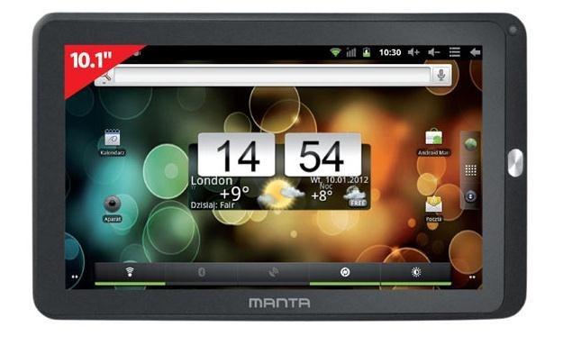 PowerTab X MID06 - to nie iPad czy Asus Transformer, ale to także jest tablet /materiały prasowe
