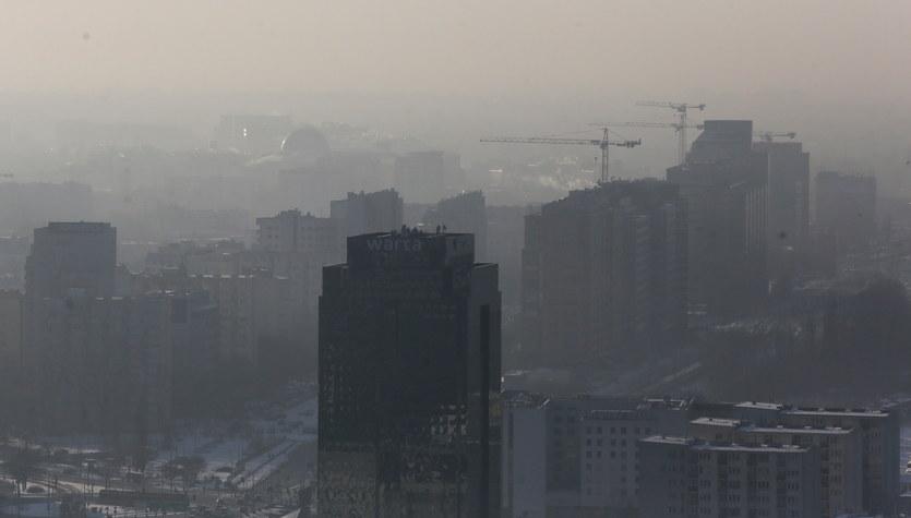 Powietrze, które widać... Warszawa pod smogiem