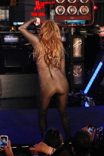 Times Square - powitanie roku 2010 z udziałem Jennifer Lopez