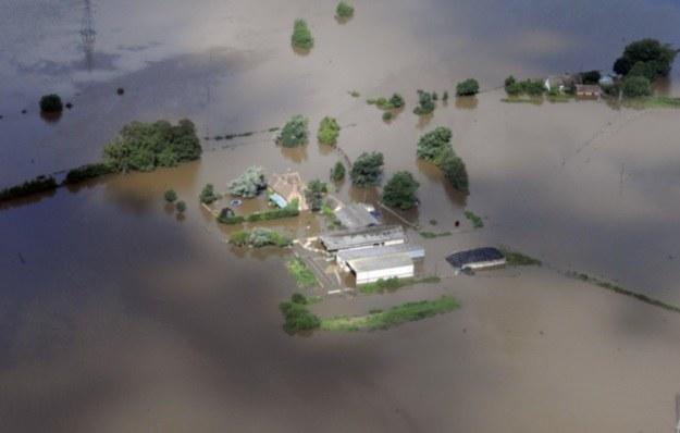 Powódź w Gloucestershire, 2007 r. /AFP