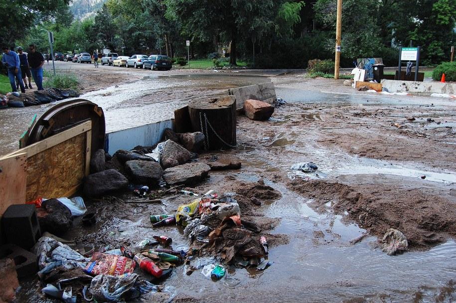 Powódź w Kolorado /CHRISSA MAURY /PAP/EPA