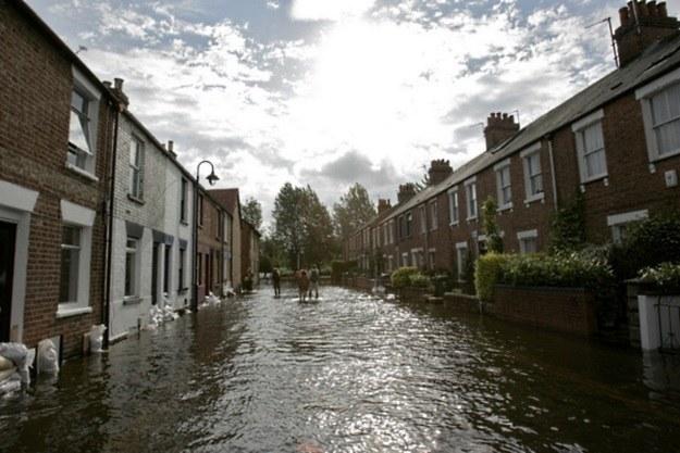 Powódź w Oksfordzie, 2007 r. /AFP