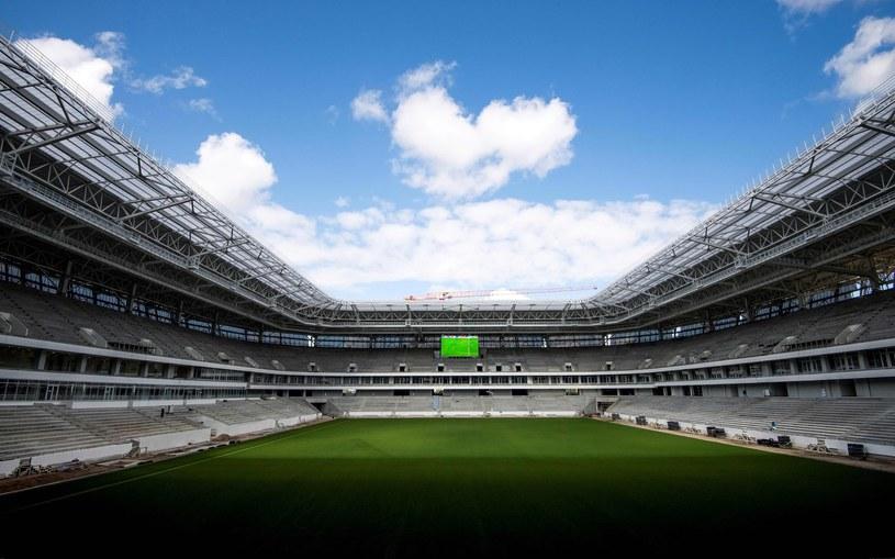 Powstający stadion w Kaliningradzie /AFP