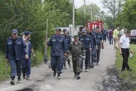 Pożar domu opieki pod Kijowem