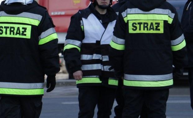 Pożar domu w Gdańsku. 5 osób w szpitalu