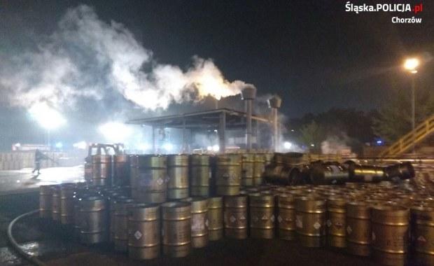 Pożar fosforu w Chorzowie. Dziś pierwsze przesłuchania