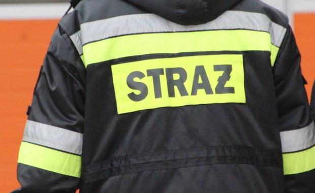 Pożar kamienicy w Lądku-Zdroju. Ewakuowano mieszkańców