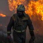 Pożar lasu w Grecji. Jedna osoba zginęła, dwie odniosły obrażenia