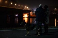 Pożar Mostu Łazienkowskiego