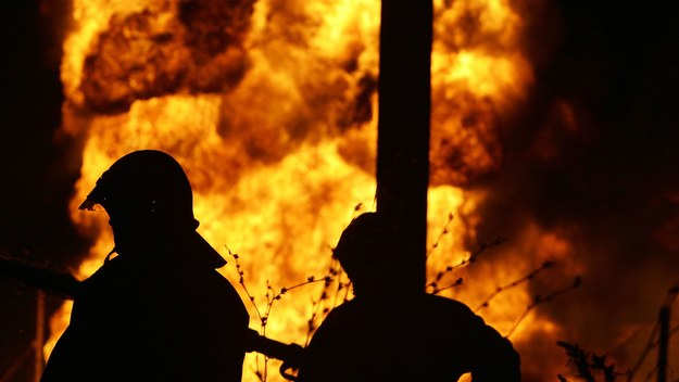 Pożar na poddaszu kamienicy w Łodzi. Ewakuowano 30 osób