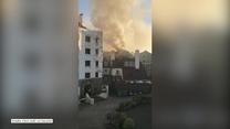 Pożar pubu w Londynie. Wybuchł, gdy kibice oglądali mecz