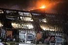 Pożar szpitala w Bochum. Walka z ogniem nadal trwa