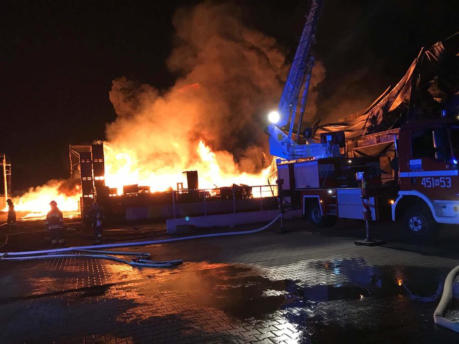 Pożar w Borzęcinie /Gorąca Linia RMF FM /Gorąca Linia RMF FM