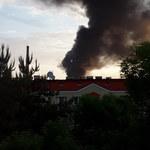 Pożar w Gorlicach. Płonie składowisko odpadów