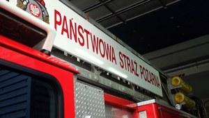 Pożar w Koszalinie: Nie żyje jedna osoba