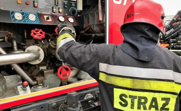 Pożar w Starachowicach. Ewakuowano ponad 20 osób