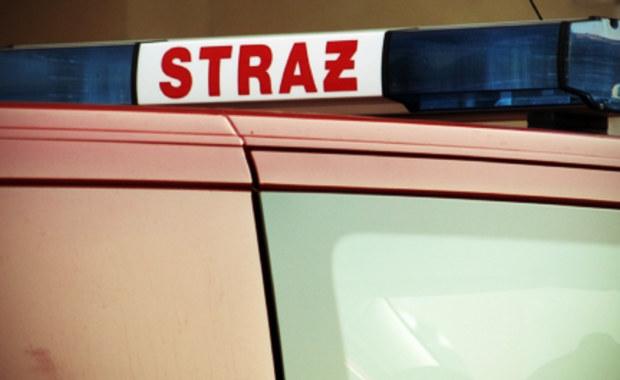 Pożar w Strzelcach Opolskich, 1 osoba poszkodowana